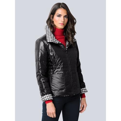 Alba Moda, Jacke mit Wendemöglichkeit, schwarz
