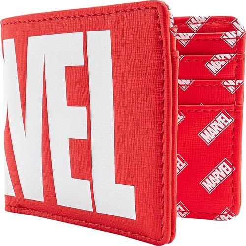 Marvel Loungefly - Marvel Logo Geldbörse - rot weiß - Offizieller & Lizenzierter Fanartikel