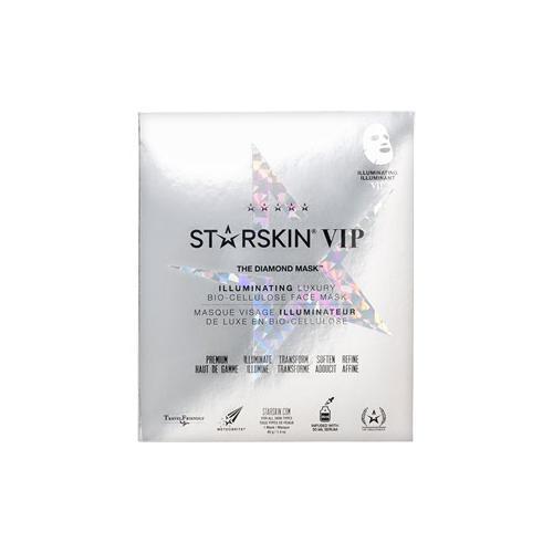 StarSkin Masken Tuchmaske VIP - The Diamond Mask Illuminating Face Mask Bio-Cellulose 1 Stk.