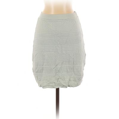 American Apparel Casual Skirt: Blue Bottoms - Size Small