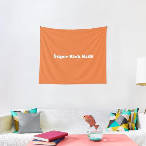 Super Rich Kids Wall Tapestry