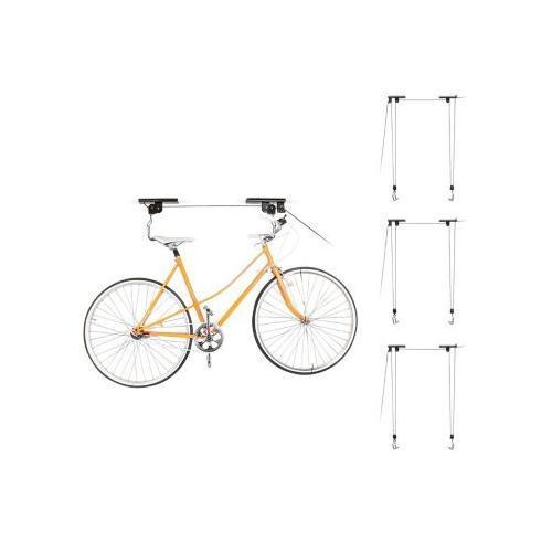 4er Set Fahrradlift Fahrradaufzug Fahrradhalter Fahrradlifter Decke 4 Fahrräder schwarz