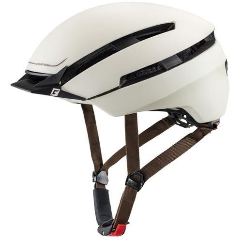 Cratoni Fahrradhelm City-Fahrradhelm C-Loom beige Rad-Ausrüstung Radsport Sportarten