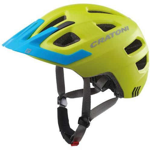 Cratoni Kinderfahrradhelm Fahrradhelm MAXSTER PRO grün Rad-Ausrüstung Radsport Sportarten