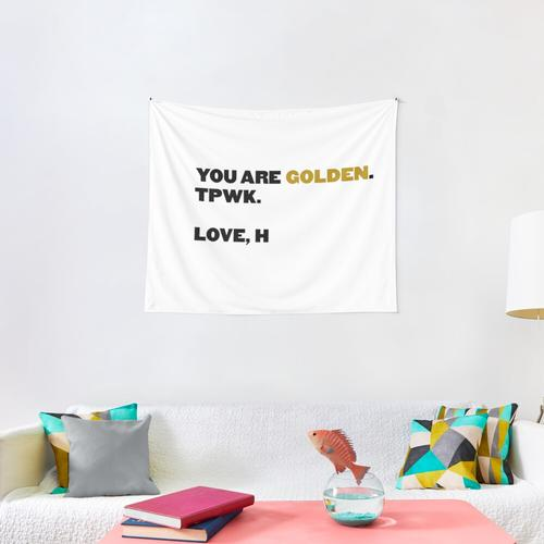 You Are Golden - HS (gold) Wall Tapestry