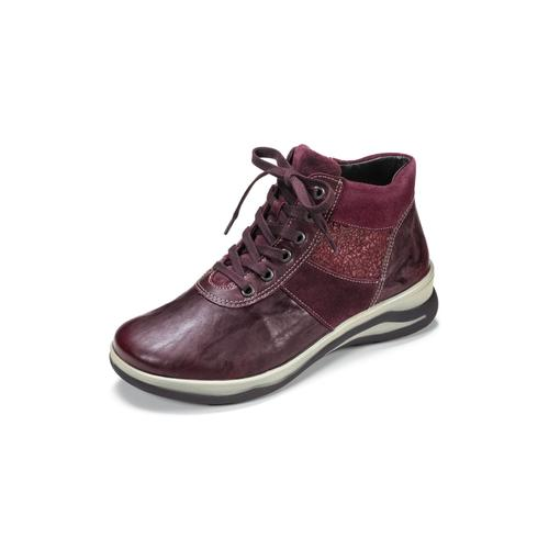 Avena Damen Sneakers Rot einfarbig