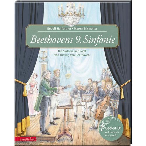 JAKO-O Beethovens 9. Sinfonie – ein musikalisches Bilderbuch mit CD, bunt