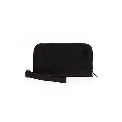 Jonden Wristlet: Black Solid Bags