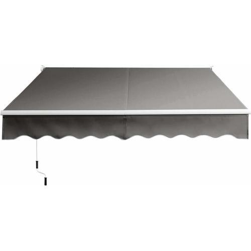 3 x 2,5 m Gelenkarmmarkise Sonnenmarkise Balkonmarkise Terrassenmarkise Klemmmarkise mit UV- und