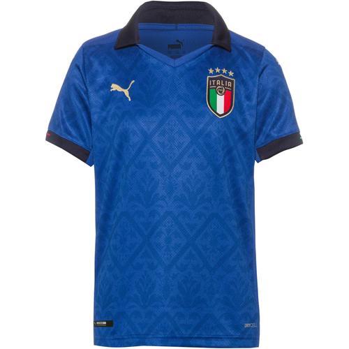 PUMA Italien 2021 Heim Trikot Kinder in team power blue-peacoat, Größe 164