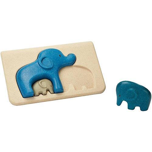 Rahmenpuzzle Elefanten Steckpuzzle
