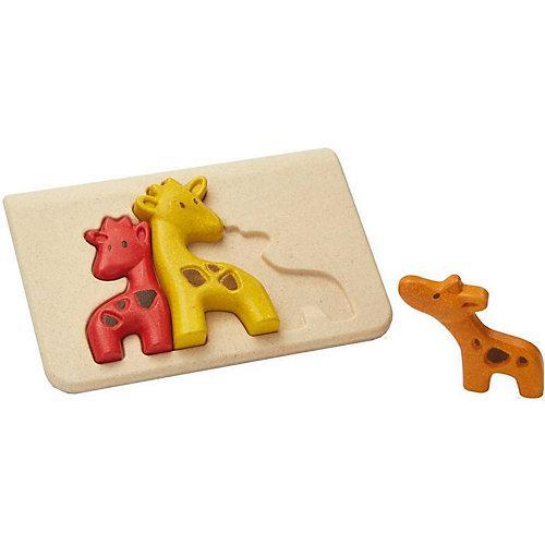 Rahmenpuzzle Giraffen Steckpuzzle