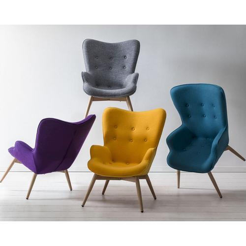 Salesfever »Scandi« Sessel blau