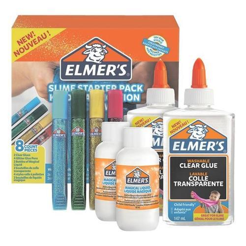 8-tlg. Bastelkleber-Set für Schleimherstellung »Starter Kit«, ELMER S