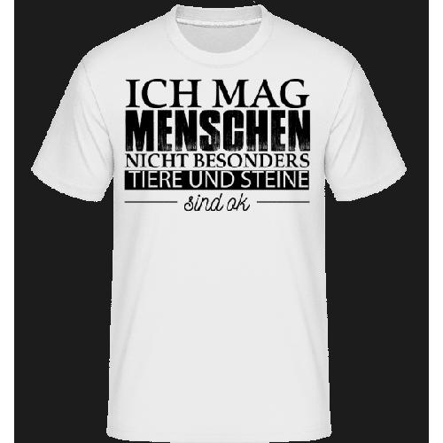 Ich Mag Menschen Nicht Besonders - Shirtinator Männer T-Shirt