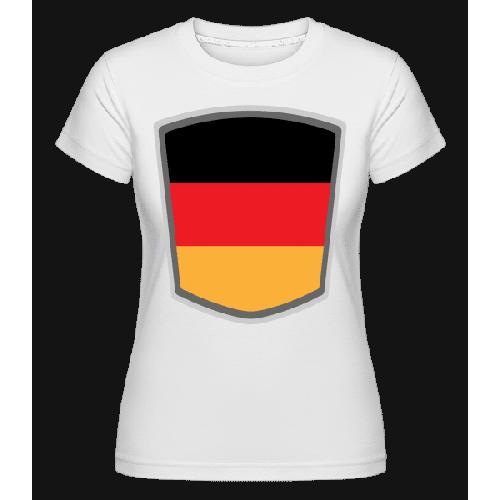 Deutschland Fahne Wimpel - Shirtinator Frauen T-Shirt