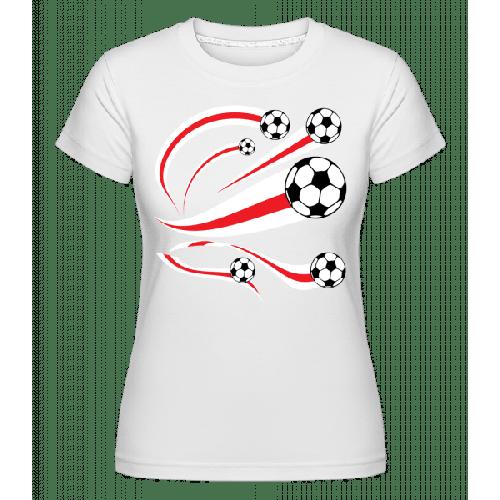 England Fahnen Fußball - Shirtinator Frauen T-Shirt
