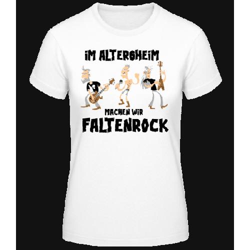 Faltenrock Im Altersheim - Basic T-Shirt