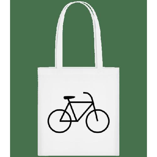 Fahrrad - Stoffbeutel
