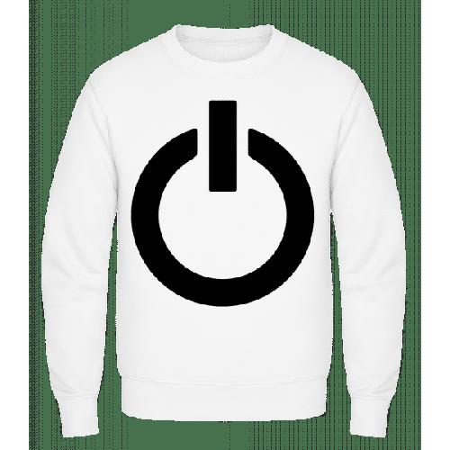 Einschalten Symbol - Männer Pullover
