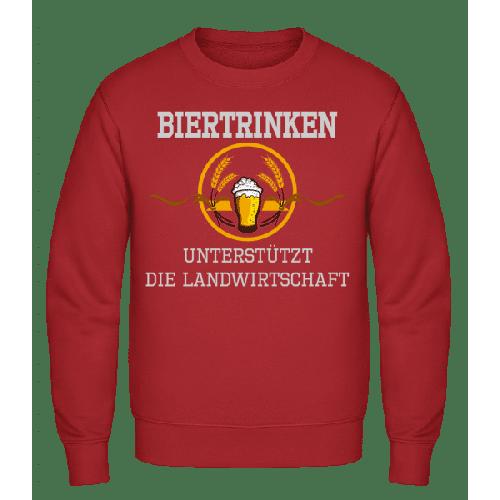 Bier Trinken - Männer Pullover
