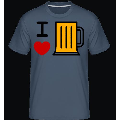 Ich Liebe Bier - Shirtinator Männer T-Shirt