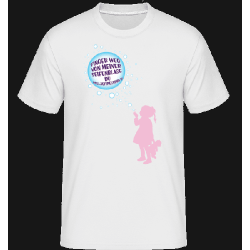 Finger Weg Von Der Seifenblase - Shirtinator Männer T-Shirt