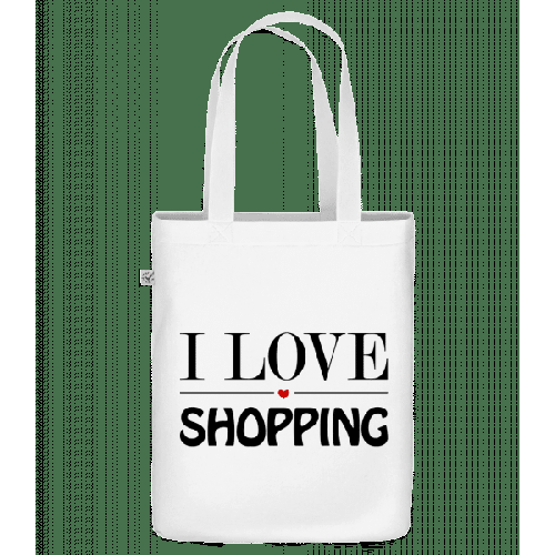 I Love Shopping - Bio Tasche