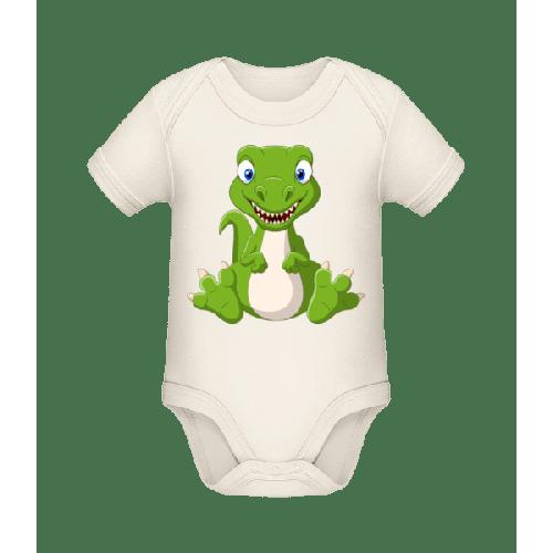 Frecher Kleiner Dinosaurier - Baby Bio Strampler