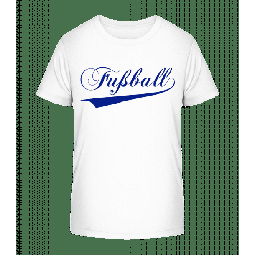 Fussball Schriftzug - Kinder Premium Bio T-Shirt
