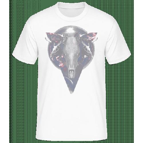 Büffel Totenkopf - Basic T-Shirt