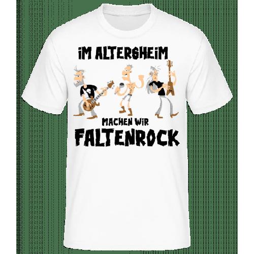 Faltenrock Im Altersheim - Männer Basic T-Shirt