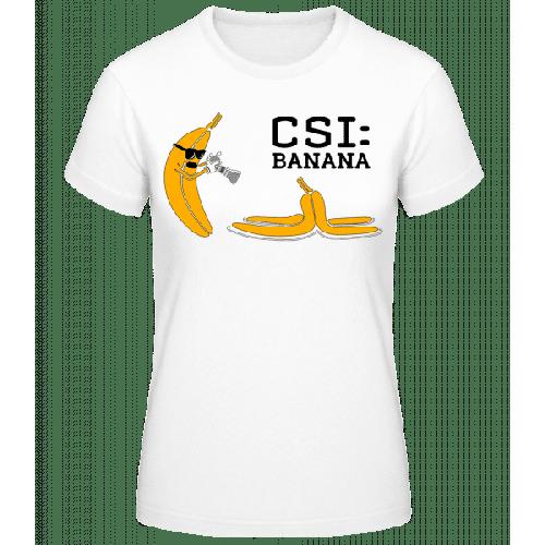 CSI Banana - Frauen Basic T-Shirt