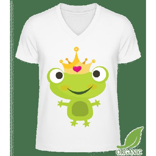 Princess Frog - Männer Bio V-Neck T-Shirt