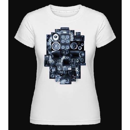 Ghettoblaster Totenschädel - Shirtinator Frauen T-Shirt