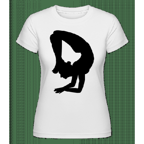 Yoga Figure Black - Shirtinator Frauen T-Shirt