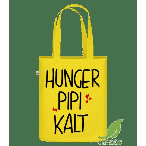 Hunger Pipi Kalt - Bio Tasche