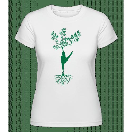 Yoga Harmonie Erde Baum - Shirtinator Frauen T-Shirt