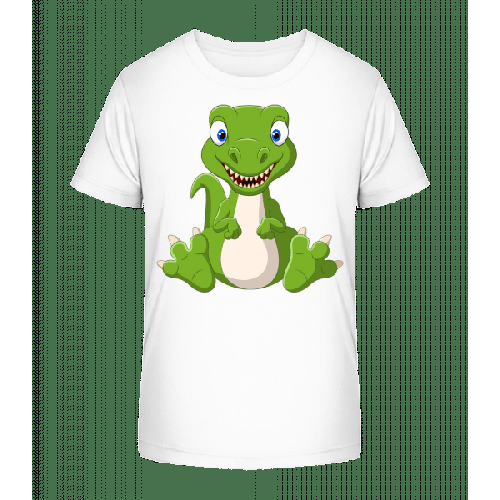 Frecher Kleiner Dinosaurier - Kinder Premium Bio T-Shirt