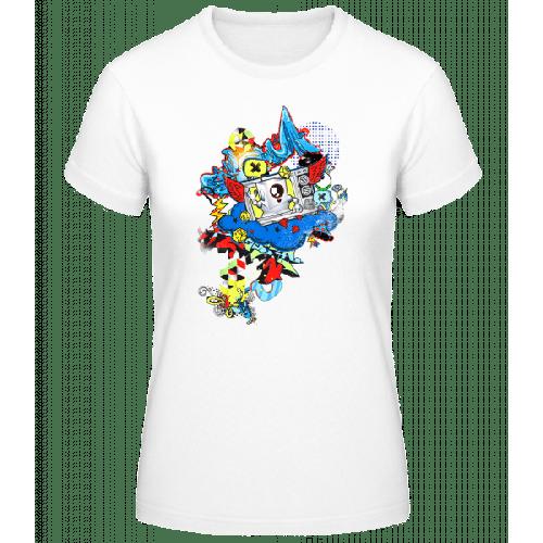 Modernes Graffiti - Basic T-Shirt