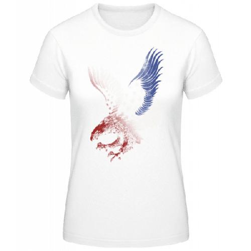 Amerikanischer Adler - Basic T-Shirt