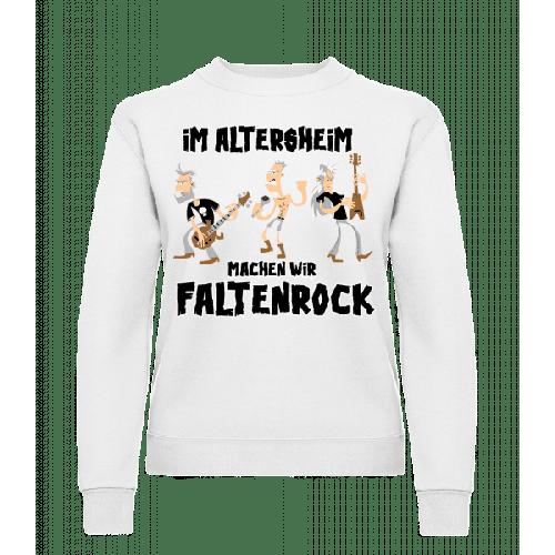 Faltenrock Im Altersheim - Frauen Pullover