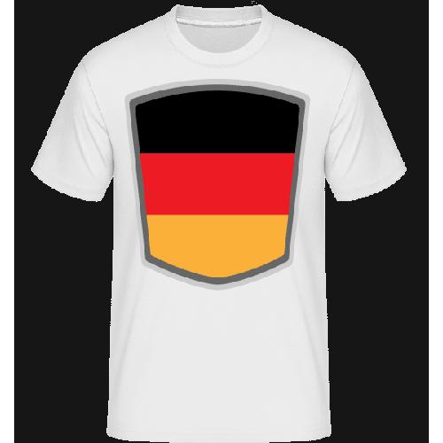 Deutschland Fahne Wimpel - Shirtinator Männer T-Shirt