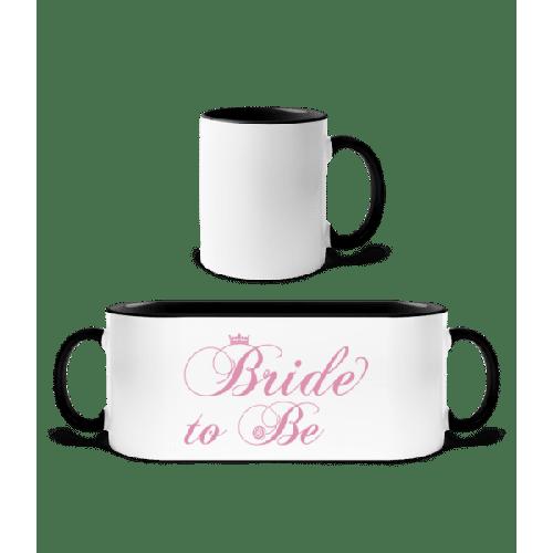 Bride To Be - Tasse zweifarbig