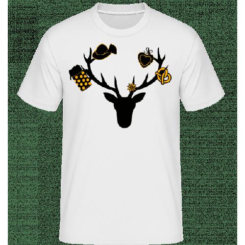 Bayerischer Hirsch - Shirtinator Männer T-Shirt