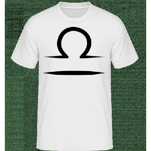 Waage Zeichen - Shirtinator Männer T-Shirt