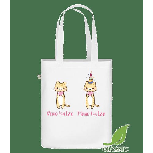 Deine Katze Meine Katze - Bio Tasche