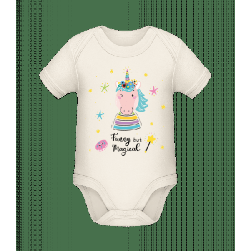Funny But Magical - Baby Bio Strampler