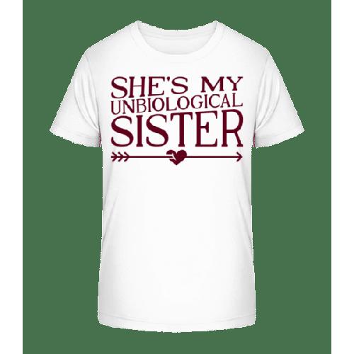 Unbiological Sister - Kinder Premium Bio T-Shirt