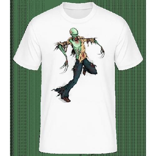 Gruseliger Zombie - Männer Basic T-Shirt